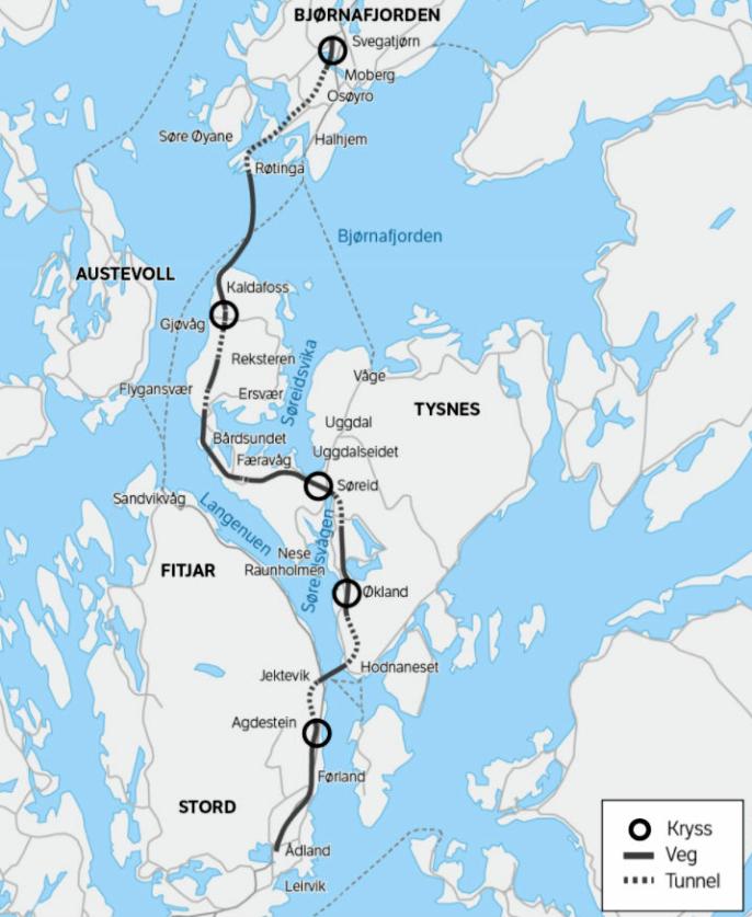 Ny E39 Stord-Os.