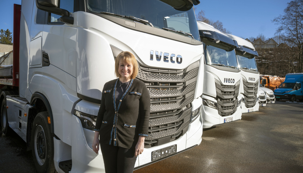 TURNE: Iveco-sjef Helene Norman-Dupuy og hennes folk skal være på veien og vise frem både S-Way og Daily frem til sommeren.