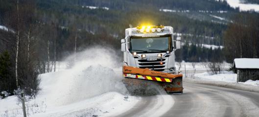 Fire vil drifte riksveier i Hallingdal og Valdres