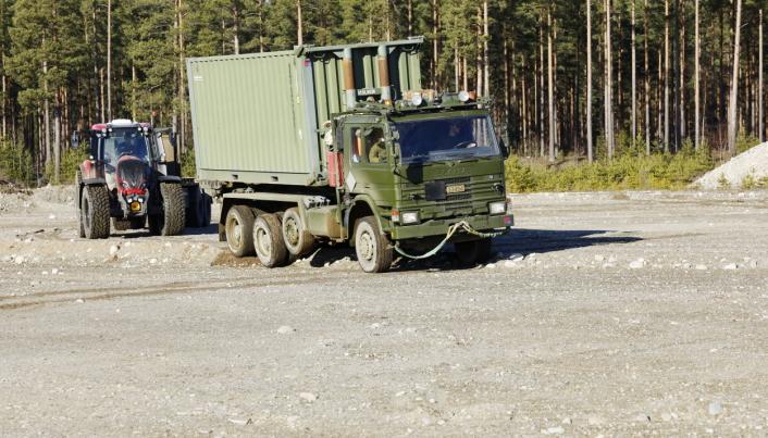 Fremkommelighet: Kolonnen er avhengig av å ha god fremkommelighet da militære operasjoner ofte beveger seg utenfor offentlige landeveier.