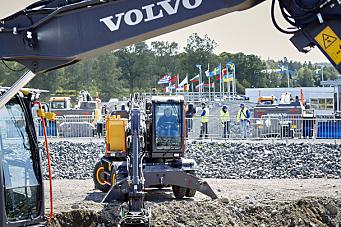 Volvo CE skal ikke delta på Bauma 2022