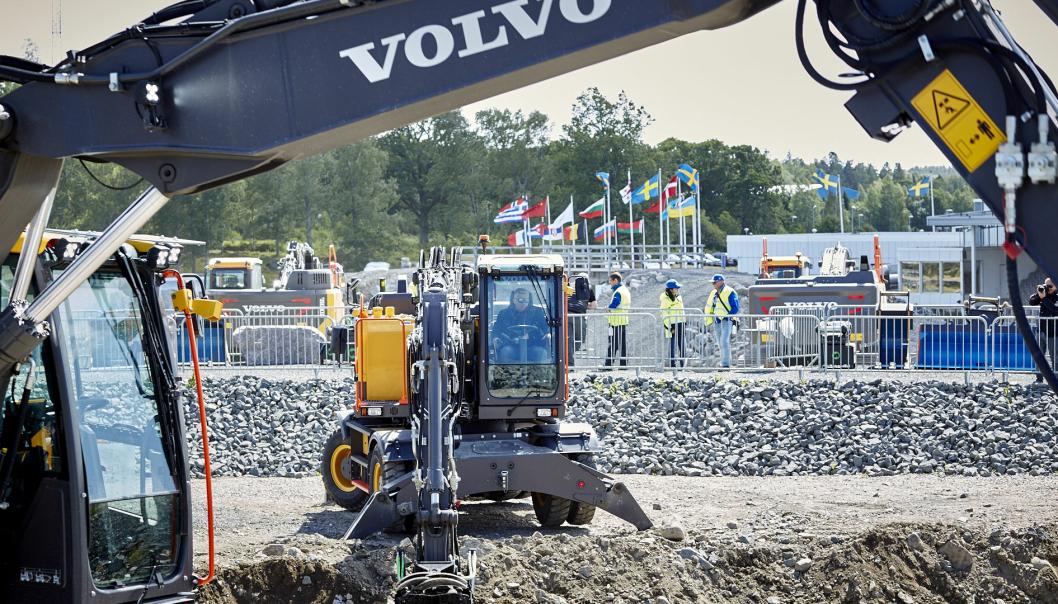 Volvo CE skal satse på markedsnære lokale arrangement i egen regi, fremfor å delta på store internasjonale messer.