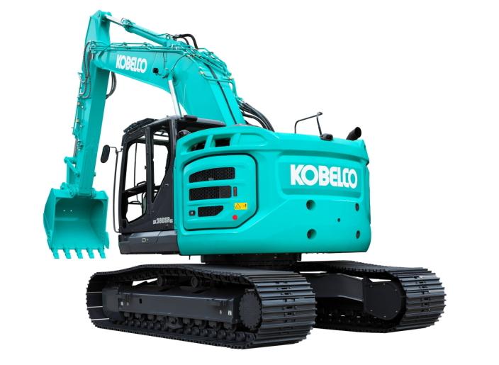Kobelco lanserer SK380SRLC som er den strste korthekk beltegraveren til produsenten.  Foto: Kobelco