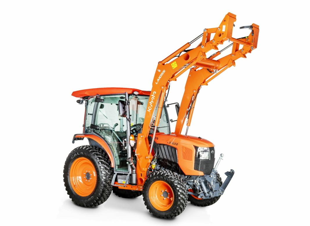 L2: Traktor-serien L2 er mer avanserte traktorer med økt komfort og funksjonalitet. Foto: Kubota