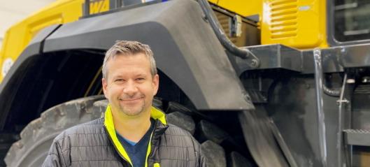 Ny produktleder for Komatsu i Hesselberg Maskin