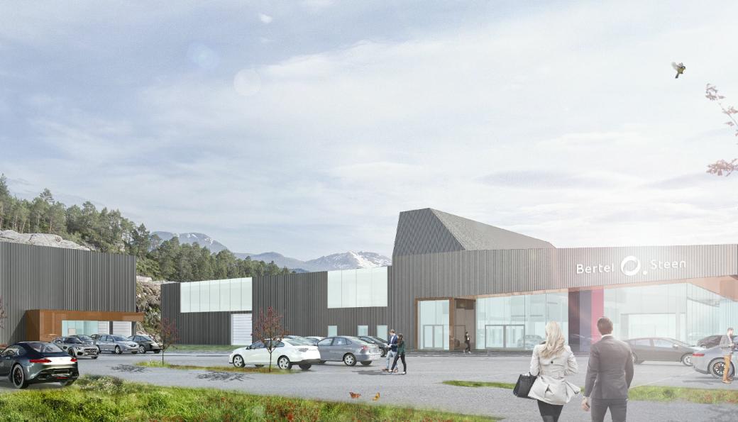 I løpet av 2022 skal Bertel O. Steen sitt 10 000 kvadratmeter store bilanlegg i Ålesund stå klart. Anlegget vil blant annet bestå av storbilavdeling, personbilavdeling og varebilavdeling.