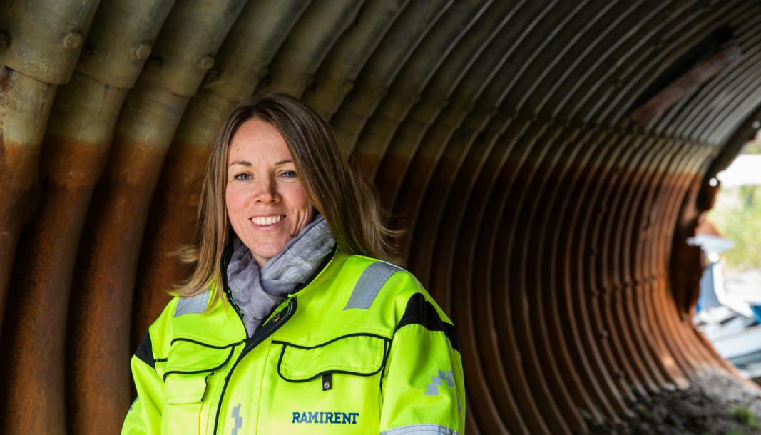NYE MÅL: – Nå er målet 15 prosent innen 2023, sier Dortea Gjervik som er administrasjons- og økonomidirektør i Ramirent og leder av kvinnenettverket.