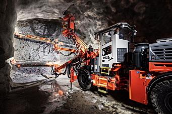 Ny tunnelrigg fra Sandvik