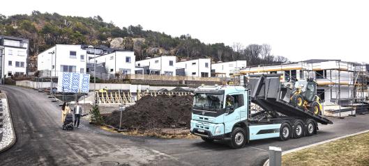 Volvo: - El-lastebiler skal stå for halvparten av salget vårt innen 2030