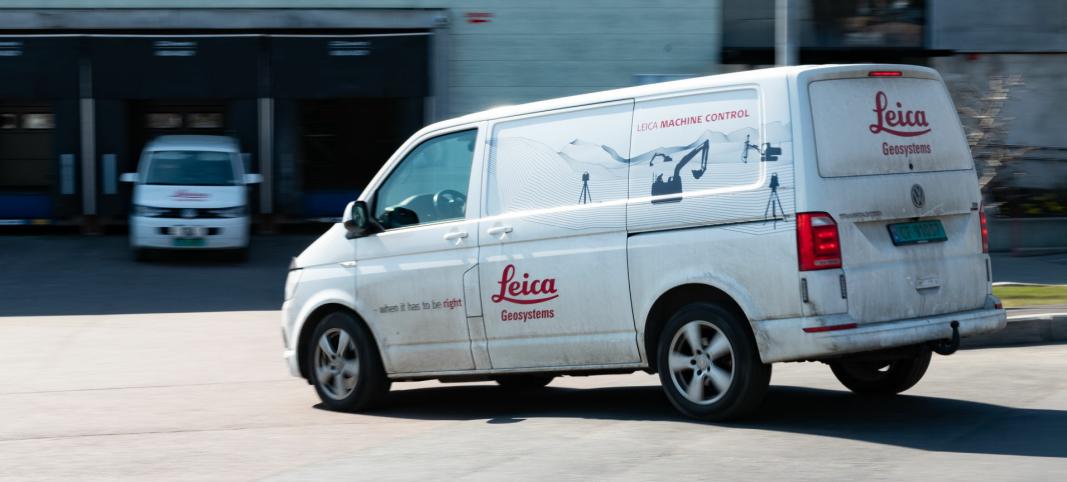 <strong>GEOGRAFISK SPREDNING:</strong> Med kunder over hele landet er det viktig for Leica å tilstedeværelse over et spredt geografisk område.