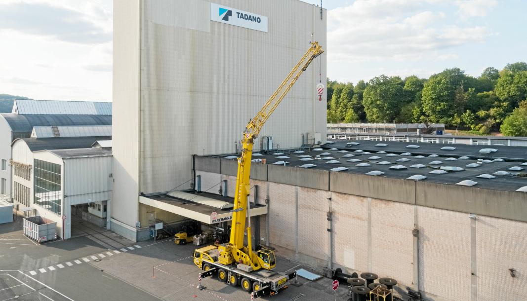 SWEIBRÜCKEN: Fabrikken i Sweibrücken i Tyskland. Foto: Demag