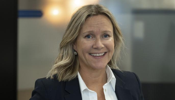 Randi Lekanger, direktør for bærekraft og miljø i Skanska Norge.