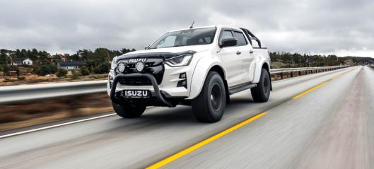Nå er nye Isuzu D-Max Arctic Trucks lansert