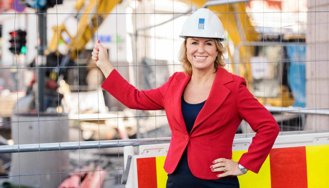 Liv Kari Skudal Hansteen, administrerende direktør i RIF, roper et varsku for stor oppgraderingsbehov innen infrastruktur og bygg.