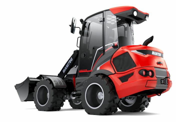 EUROPA: Manitou starter opp produksjonen av små hjullastere i Europa. Disse er tidligere produsert i USA. Foto: Manitou