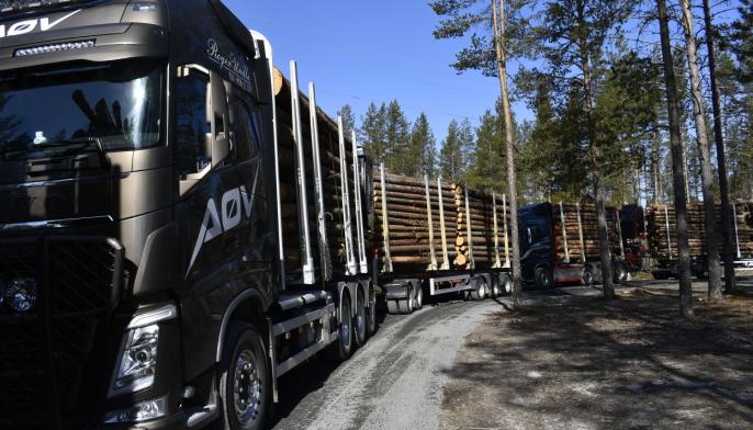 Ulike kombinasjoner av bil og henger ble testet på Finnskogen.
