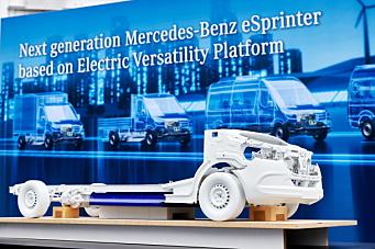 e-Mercedes klare for påbygg