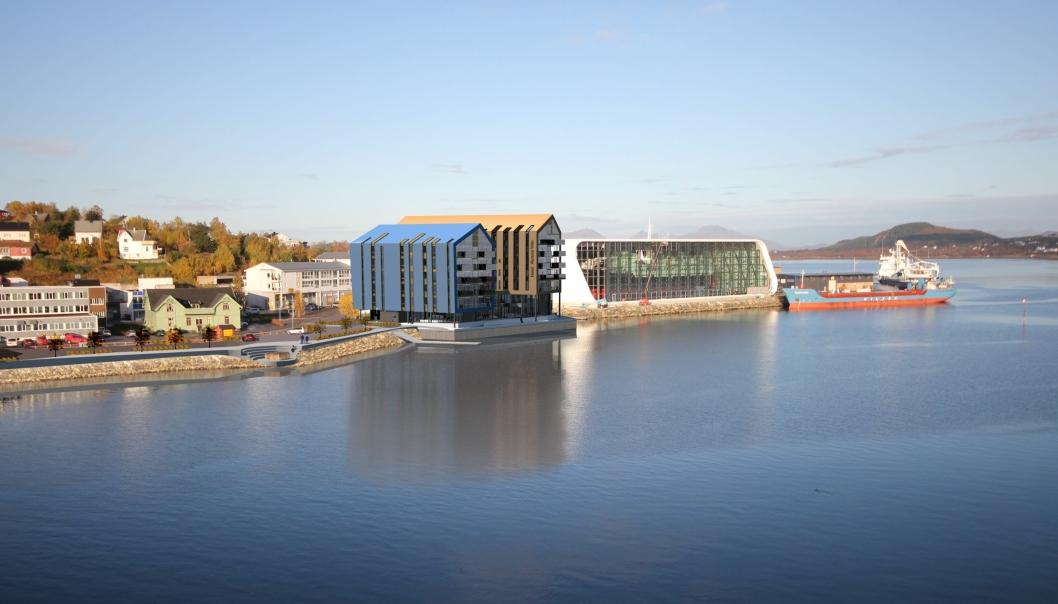 Quality Hotel Richard With får beliggenhet rett ved Hurtigrutemuseet på kaia i Stokmarknes.