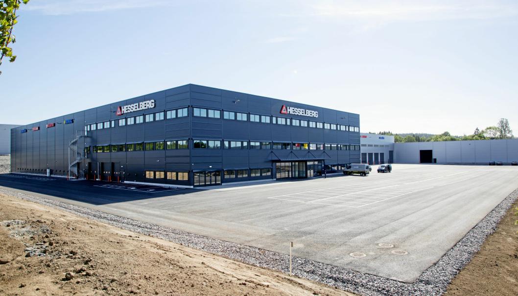 NORGE: Hesselberg i Norge ble den andre forhandleren i Europa som fikk agenturet på Komatsu.