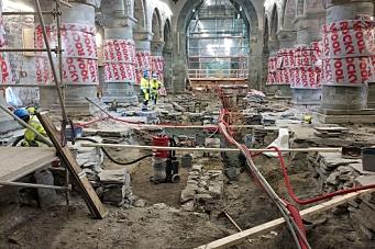 Sikrer kulturminner i Stavanger domkirke