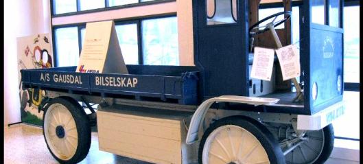 Gausdal Bilselskap leverte varer med el-lastebil i 1918