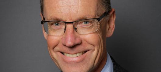 Knut Sletta blir ny jernbanedirektør