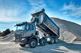 Ny anleggsbil fra Iveco