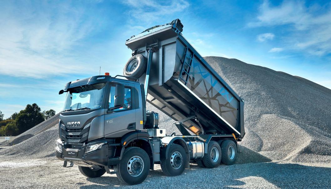 Iveco T-Way ble lansert 28. april 2021 som etterfølger for Trakker.