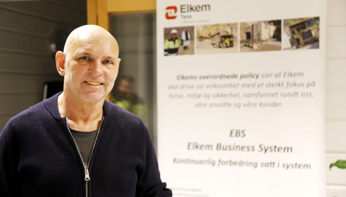 DAGLIG LEDER: Rune Martinussen er daglig leder for Elkem i Austertana.