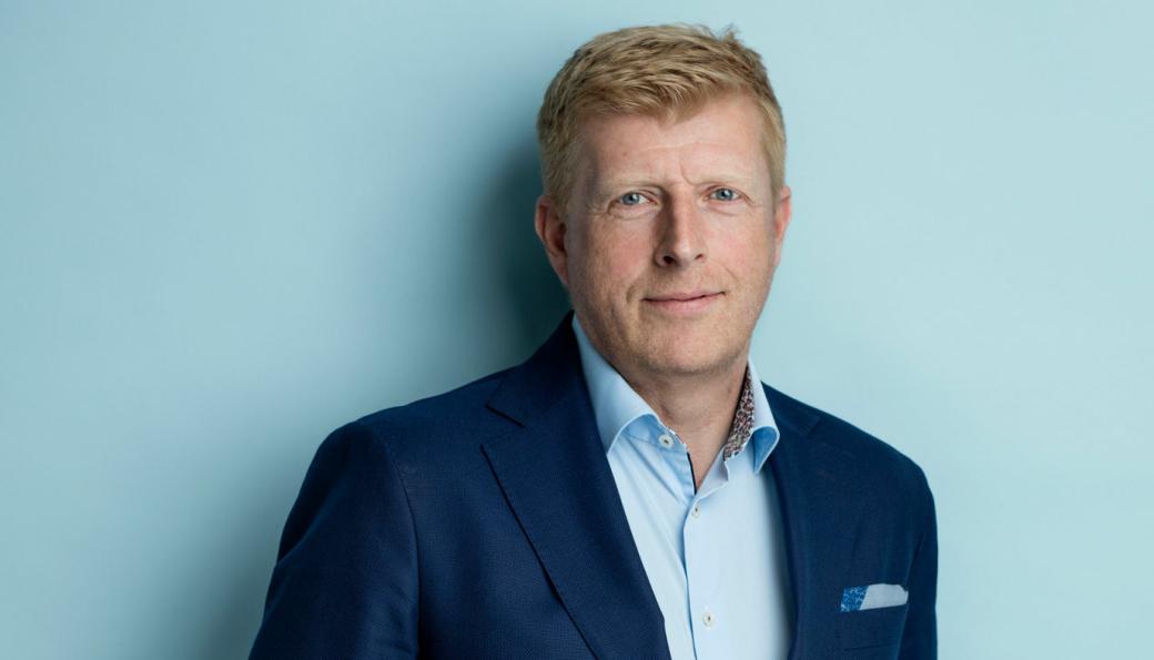 Per Hedebäck, CEO og konsernsjef i iBinder AB, har planene klare for Byggnet.