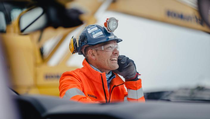 Prosjektsjef Torbjørn Tveit Bakketun har ansvar for Skanskas arbeider på CO2 mottaksanlegget i Øygarden.