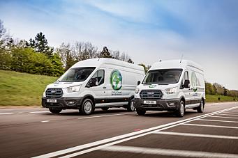 Nye Ford E-Transit skal snart testes av norske kunder