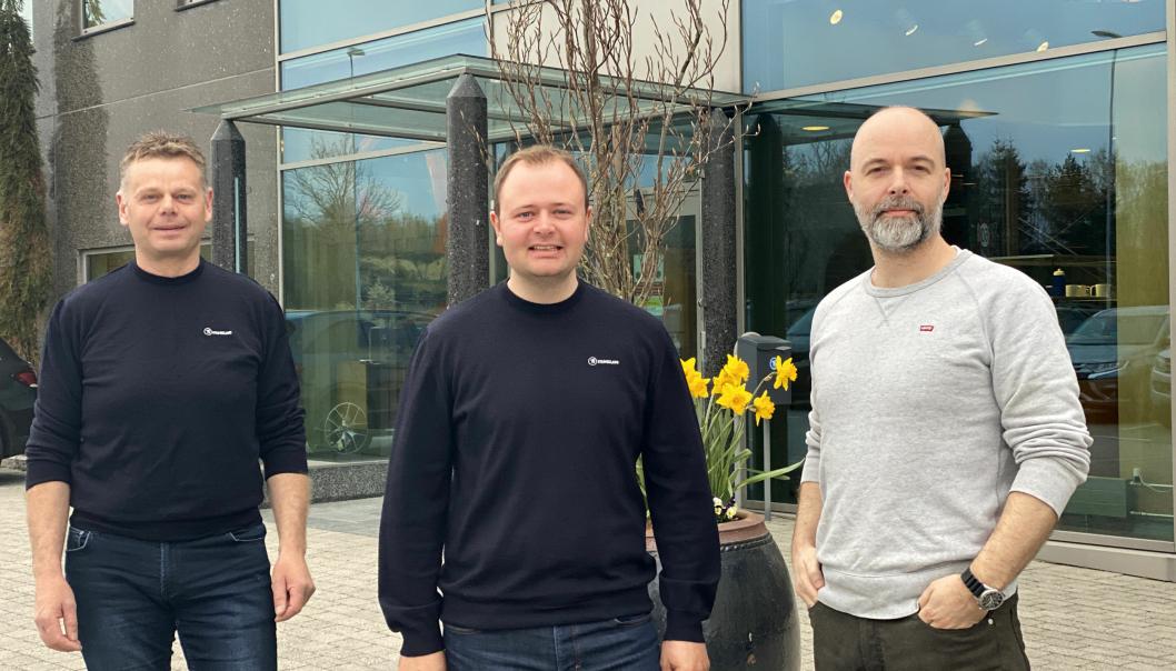 Laget som har landet jobben består av Sigbjørn Tveiten, Glenn Time og Egil Thorbjørnsen.