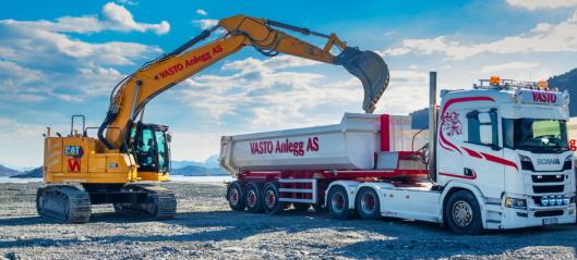 Norges første Cat 335NG til Vasto Anlegg