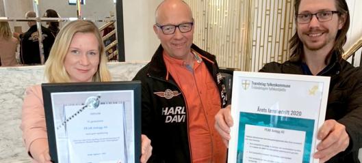 Peab kåret til årets lærebedrift i Trøndelag