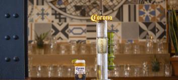 Corona på tapp