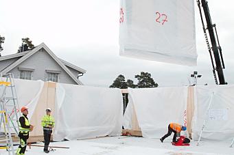 Skal forske seg til mindre avfall i kommunale byggeprosjekter
