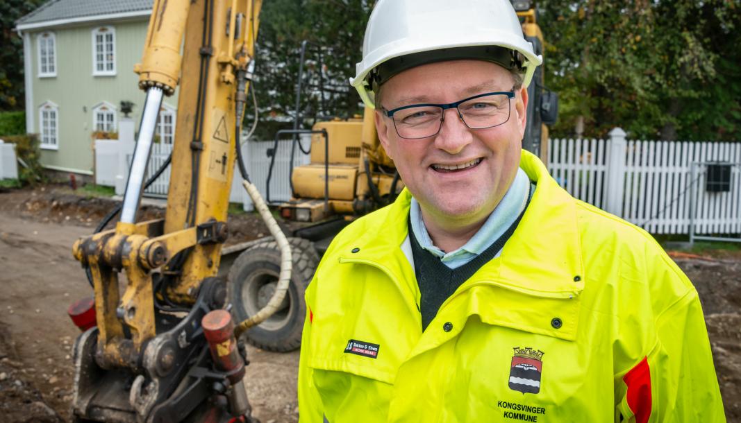 Kommuneingeniør i Kongsvinger og visepresident i Norges Ingeniør- og Teknologorganisasjon (NITO), Kjetil Lein.