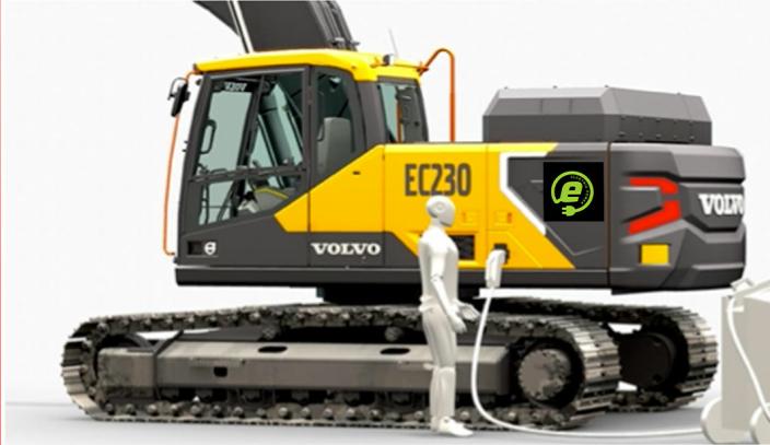 Volvo EC230 Electric.