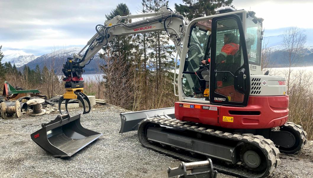Haugen Maskinservice AS på Møre er nå offisiell forhandler for EMS Norge.