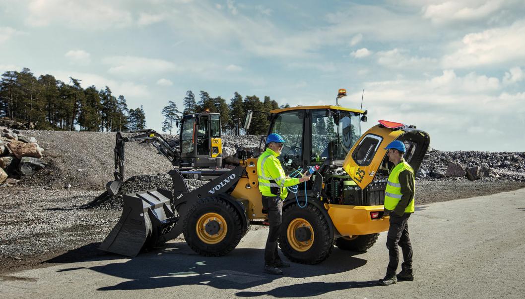 Volvo Maskin gjennomfører bestilling av prøvekjøring for kunder, med påmelding via nett.