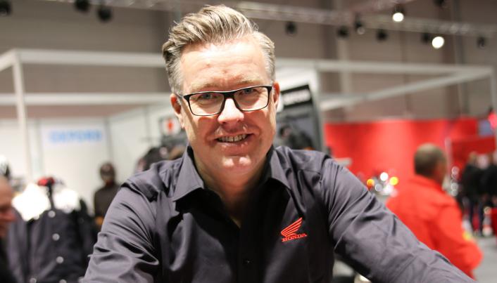 Anton Vestavik, salgs- og markedssjef i Kellox, er glad for å kunne tilby Honda-ATV-er i Norge igjen.