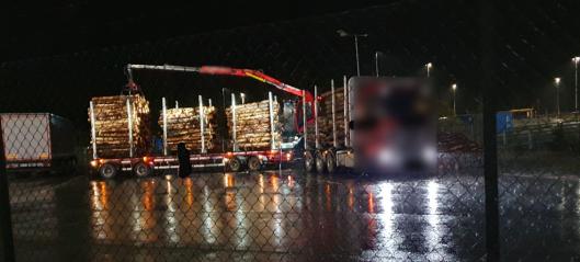 Stoppet med 74,4 tonn totalvekt