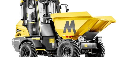Mecalac lanserer ny 3,5-tonns hjuldumper