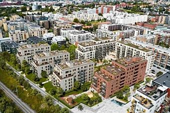 Bygger 258 leiligheter på Løren