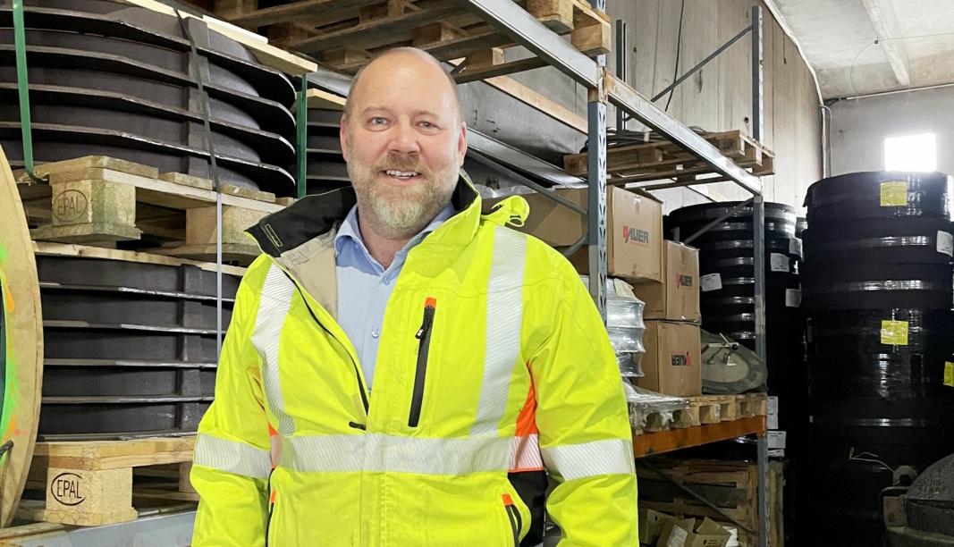 SATSER: Eirik Strand i Arstec AS vil satse på FloatRing, og har engasjert et spesial-konsulentselskap til oppfølging. Foto: Arstec