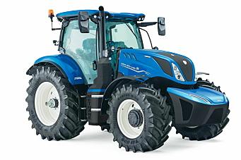 Metan-traktor fra New Holland