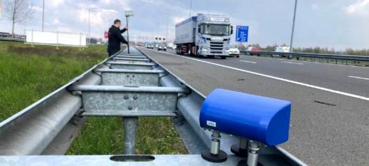 Tester fjernavlesing av fartsskrivere