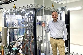 Volvo CE lanserer testlab for hydrogen brenselceller