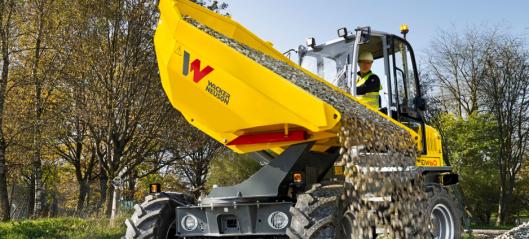 Nye hjuldumpere fra Wacker Neuson